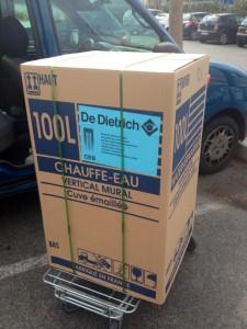 100 litres Dedietrich vertical.