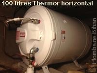 """Chauffe eau """"Thermor"""" posé dans accès difficile."""